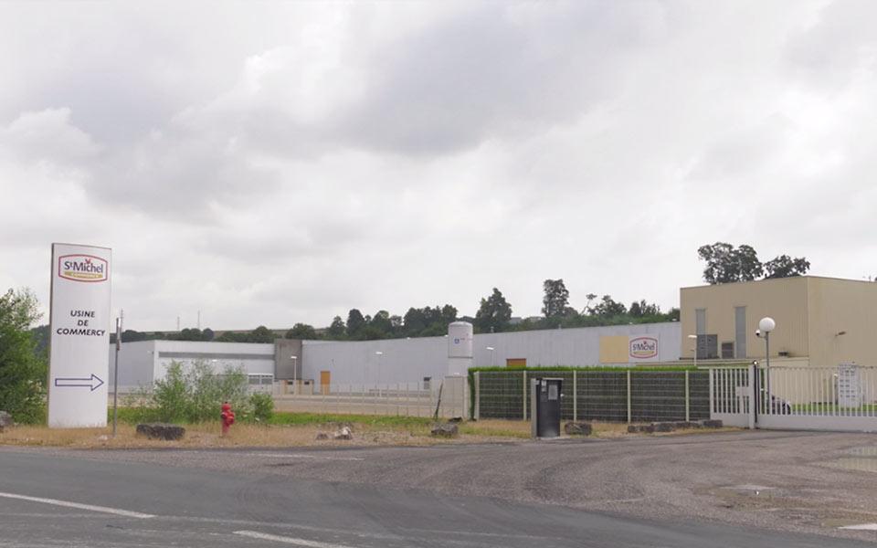 site de production de Commercy