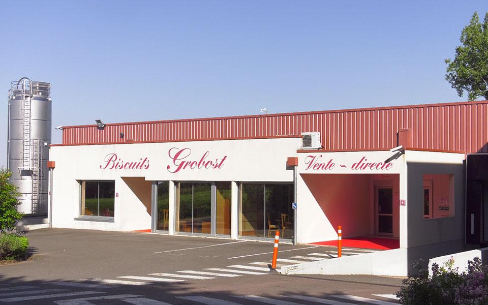 Site de production de Grobost